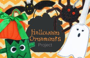 Halloween Ornaments Project