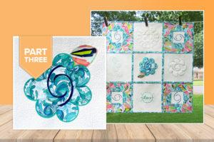 'Hatching' a Quilt – Appliqué Quilt Block